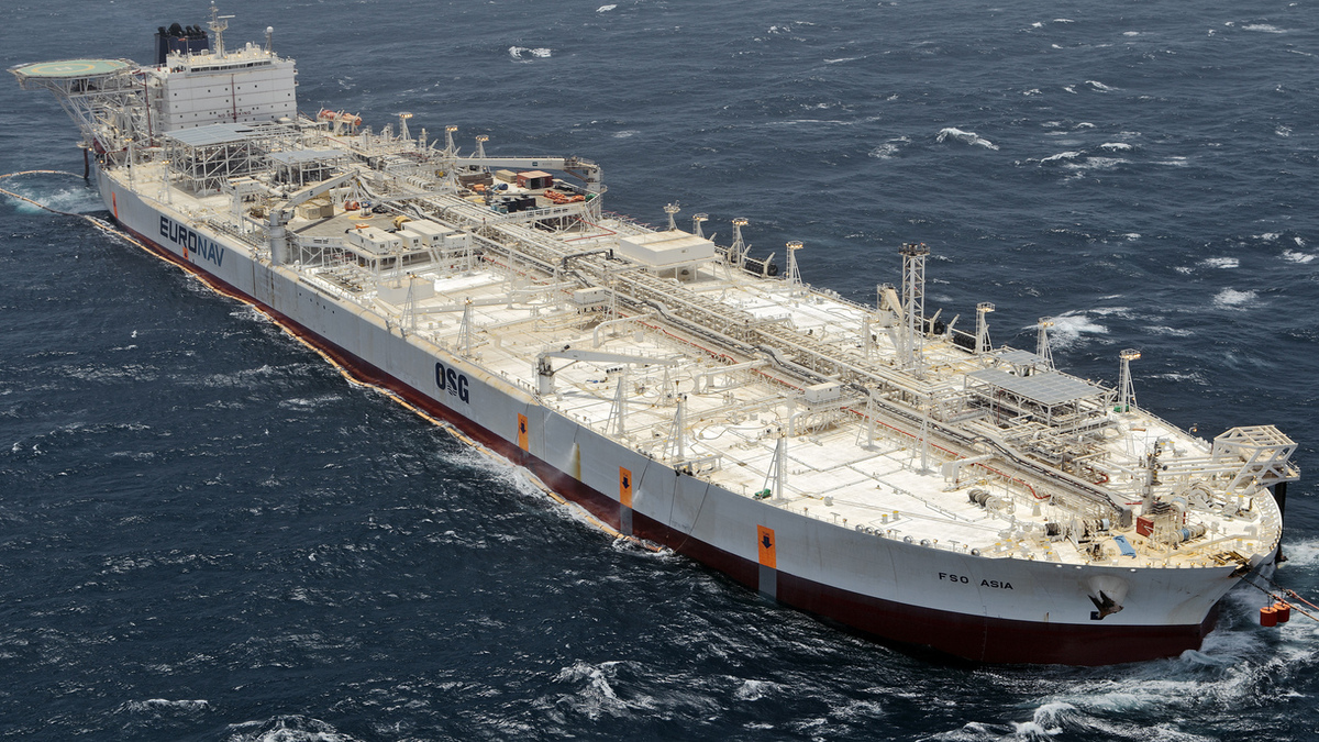 FSO Asia will continue to work in the Al-Shaheen oil field till 2032 (Image: Euronav)