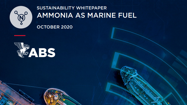 ABS Ammonia as a marine fuel whitepaper.PNG