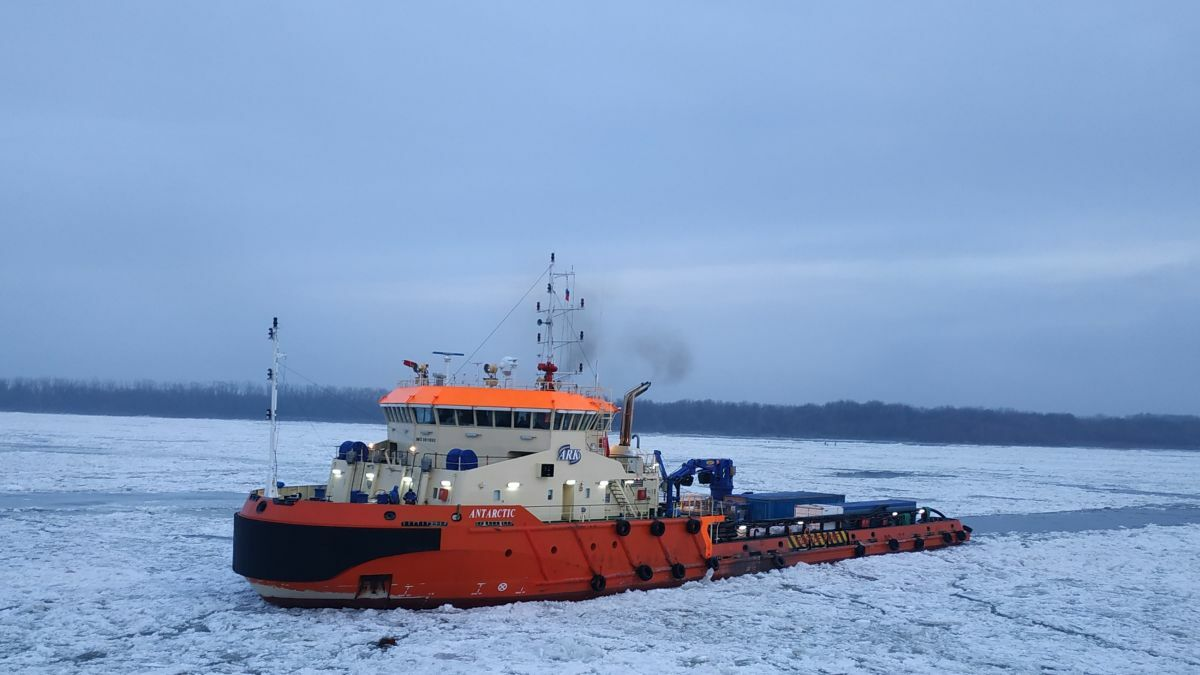Ice-strengthened props at the 'heart' of new Russian AHTS vessels