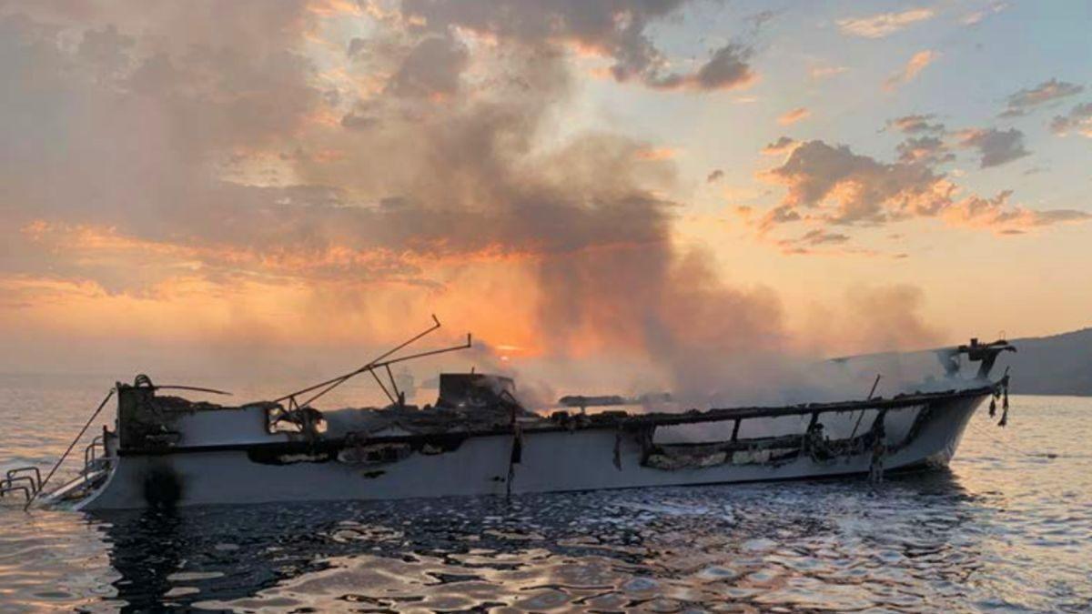 A fire on board the recreational dive boat Conception claimed the lives of 34 (source: NTSB)
