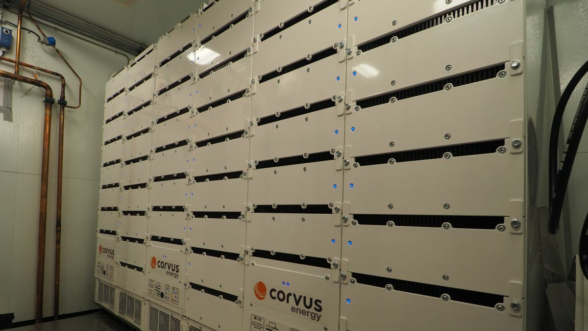 Corvus' Orca Energy ESS has DNV GL class approval for ship installation (source: Corvus)