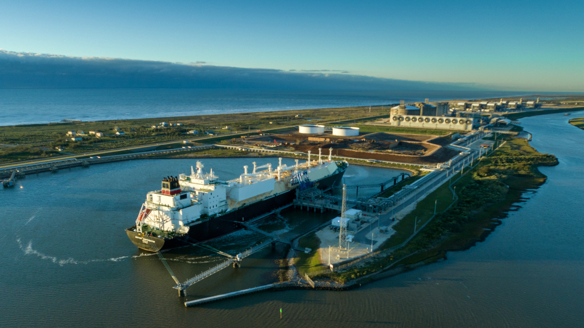 British Contributor loaded the 100th cargo from Freeport LNG (source: Freeport LNG)
