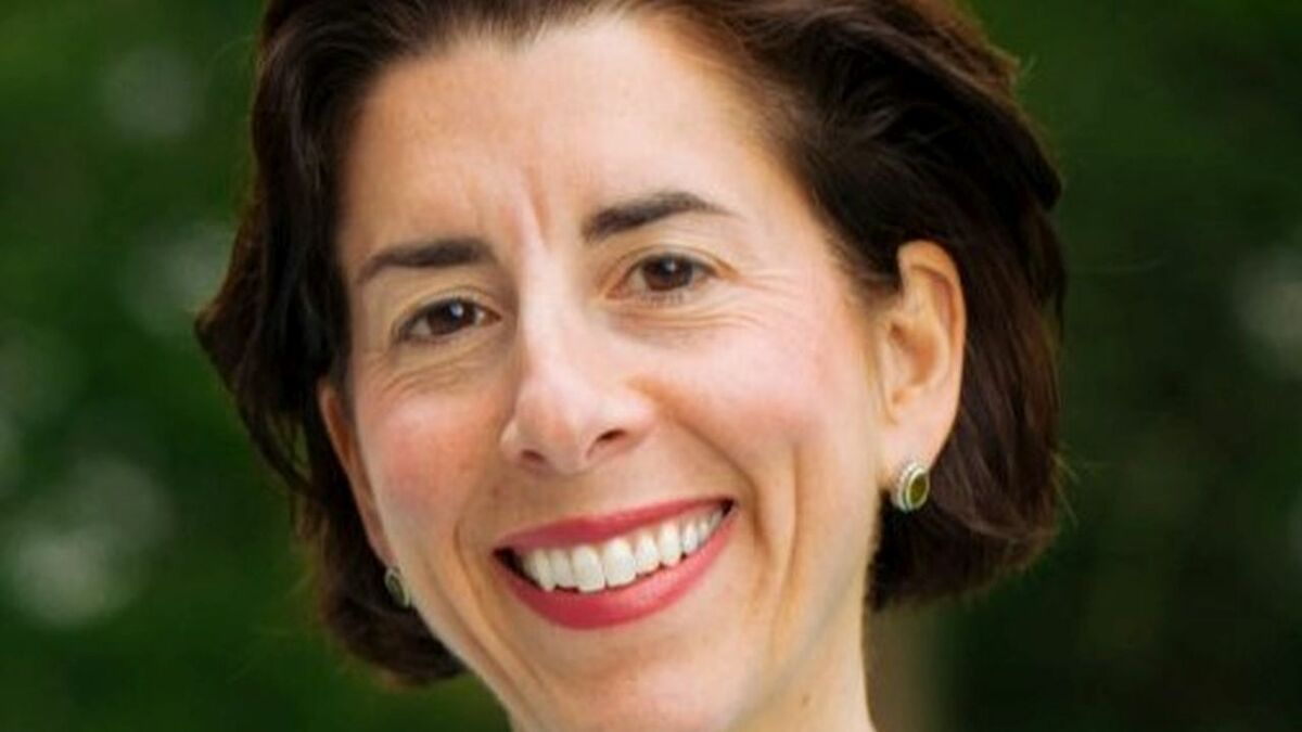 Governor Raimondo said offshore wind would help the state meet green energy targets and create jobs