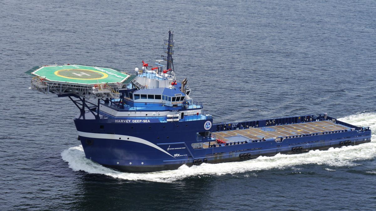 Harvey Gulf International Marine has one of the largest US-owned OSV fleets, including the MPSV Harvey Deep-Sea (source: HGIM)