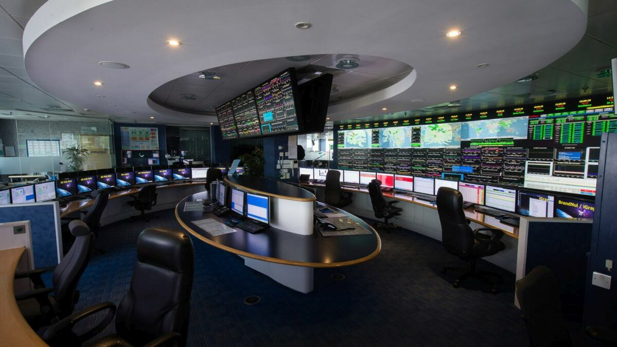 Inmarsat manages its satellite constellations from a control room in London (source: Inmarsat)