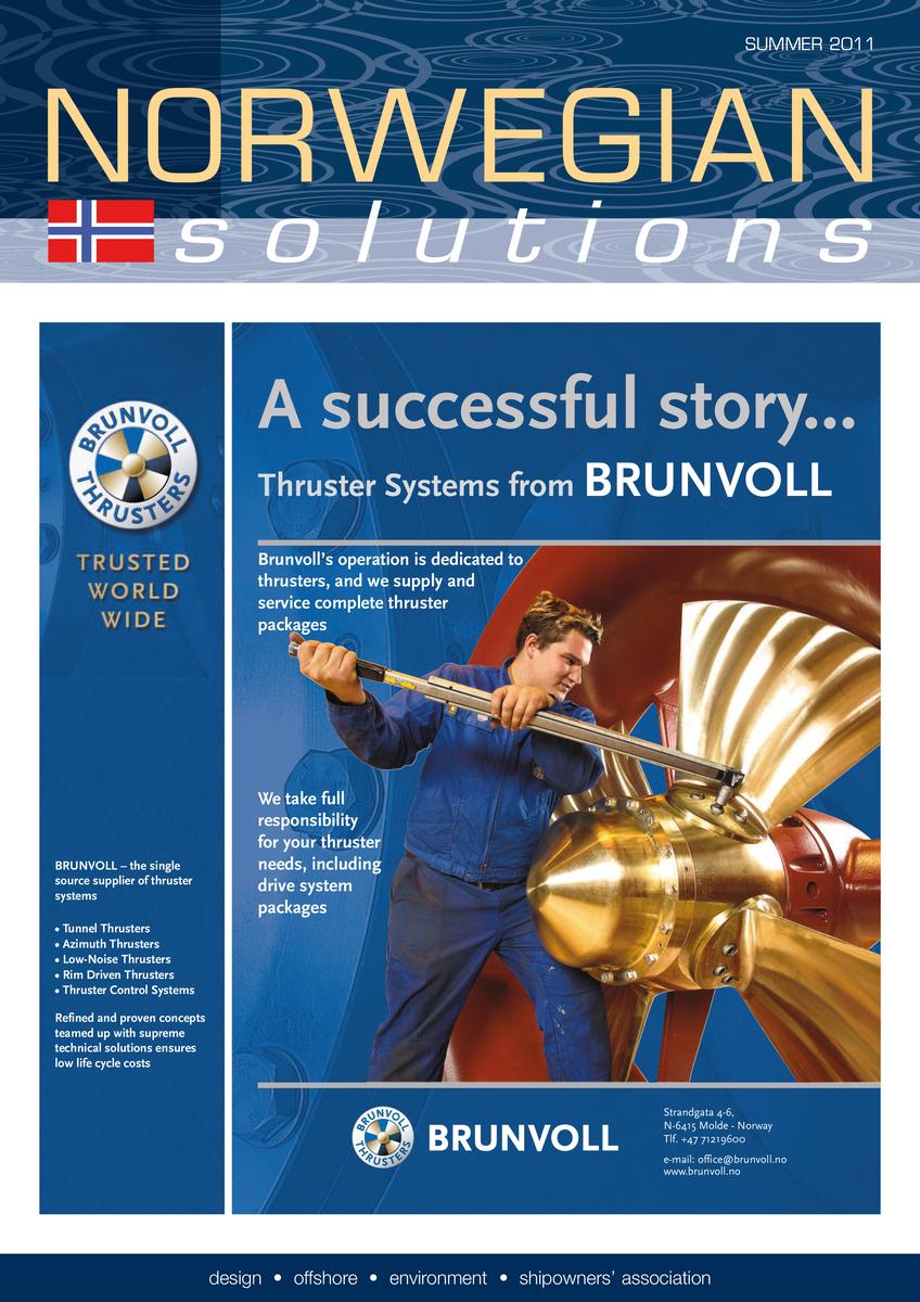 Norwegian Solutions 2011