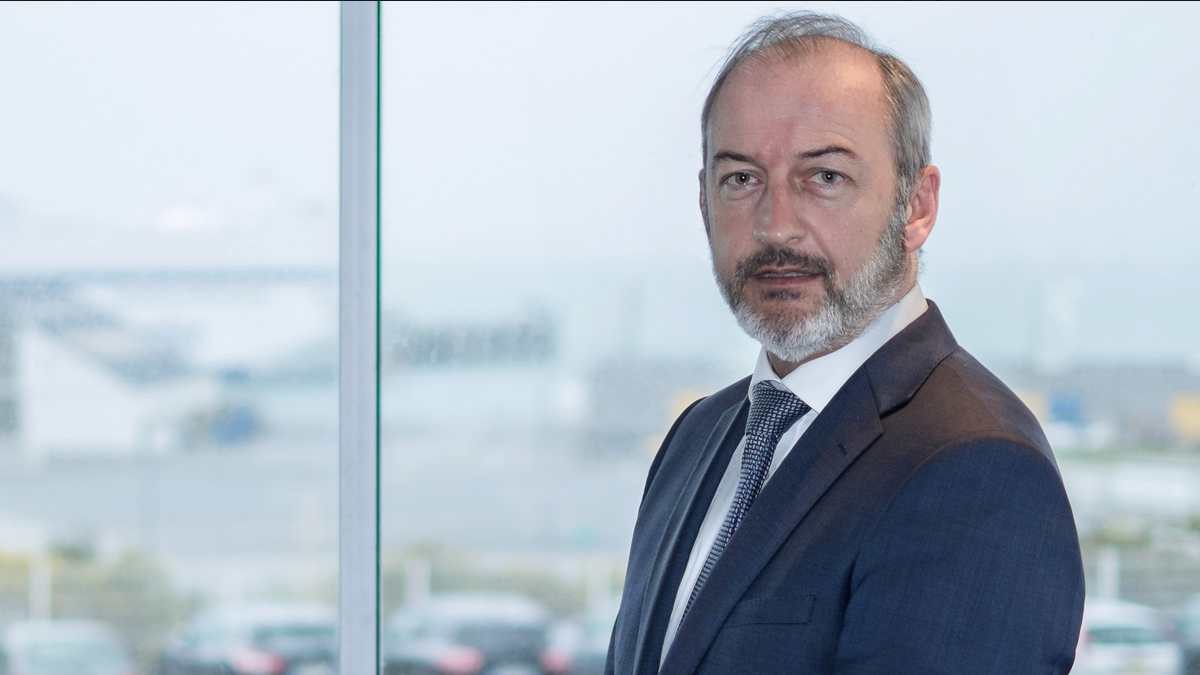 Christophe Mathieu is the new chair of the board of directors at Interferry (Image: Brittany Ferries)
