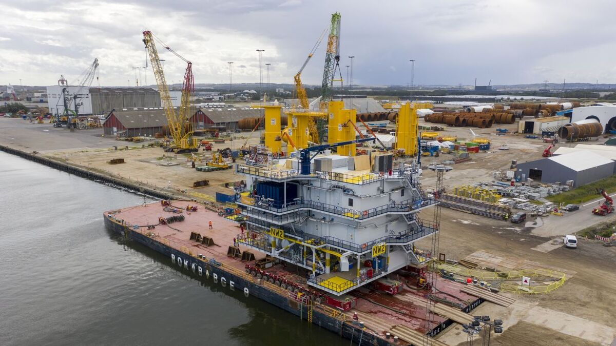 Bladt has been involved in numerous offshore wind projects in Europe