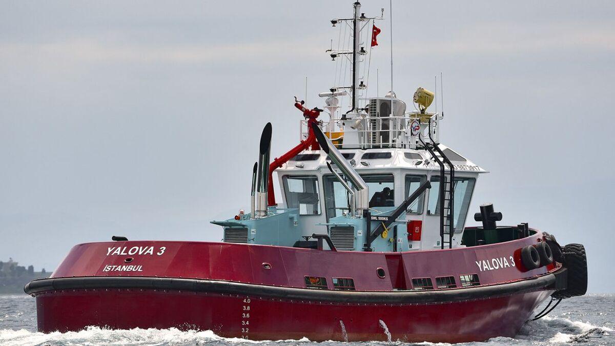 Yalova 3 is a Bozcay-class tug built for Marintug by Sanmar to a Robert Allan design (Source: RAL)