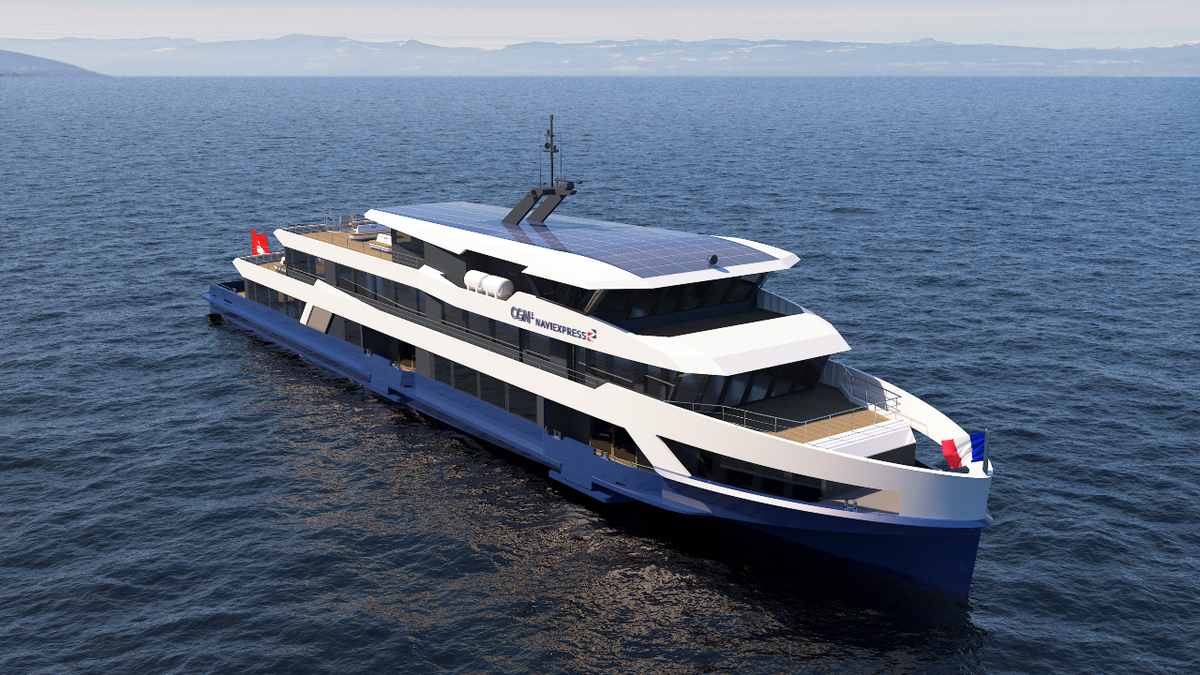 CGN is adding two contemporary 700-passenger ferries for operation on Lake Geneva (source: Wärtsilä)