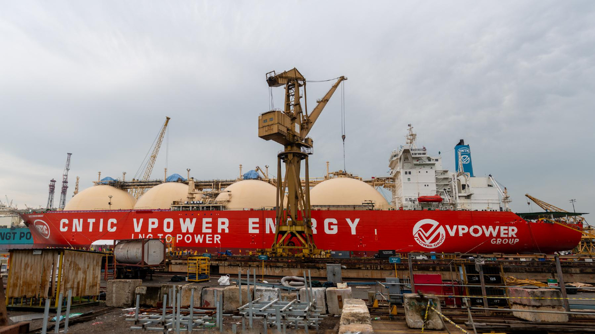 CNTIC VPower Energy will serve as an FSU for a Myanmar LNG-to-power project (source: Synergy)