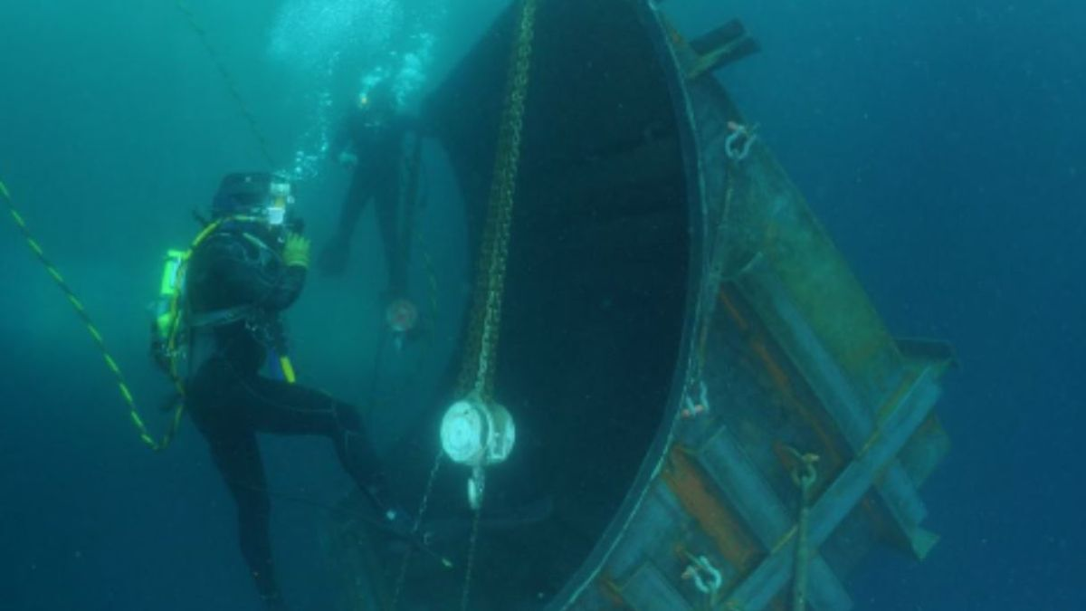 Protecting the environment with preventative and proactive underwater maintenance (Source: SGS)