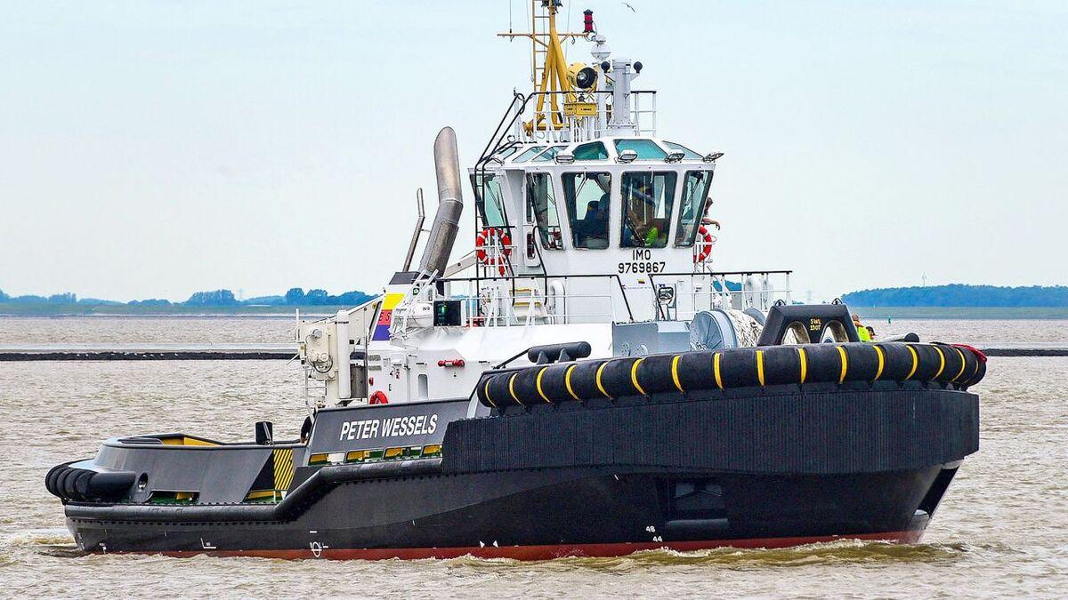 ESB tug Peter Wessels has a pair of MTU 4000-series engines (source: MTU)