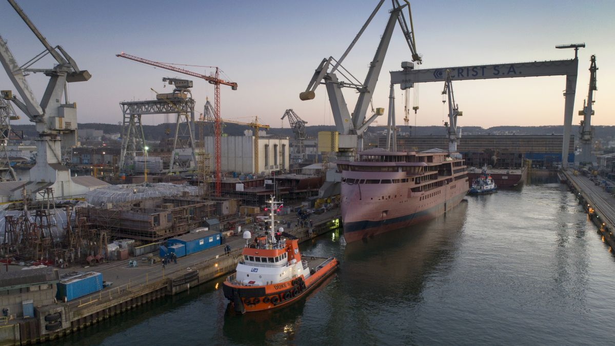 Shipyards have slowed completion of cruise ships for 2021 deliveries (source: Crist)