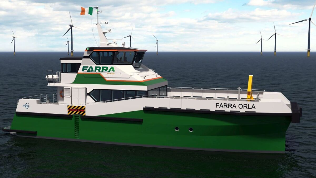 Farra Orla is the third vessel in Singapore-based Penguin Shipyard's Windflex 27 series