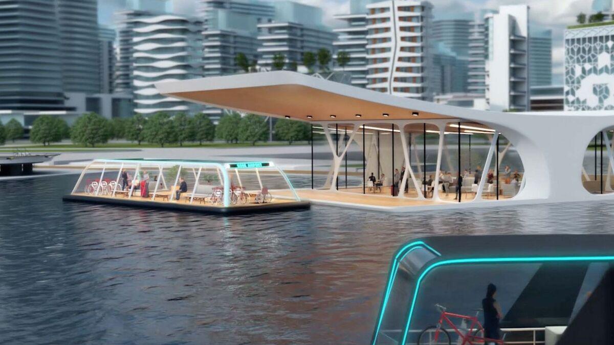 Kepco and e5 design for autonomous electric passenger vessel for urban mobility (source: e5)