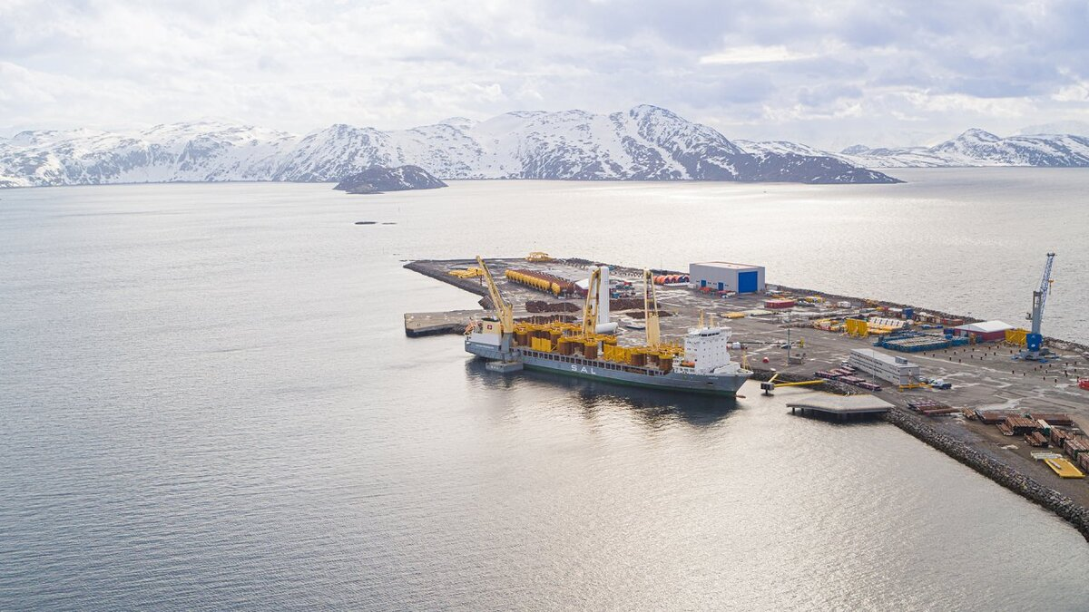 Polar base provides supplies to Equinor's operations in the Barents Sea (source: Equinor)