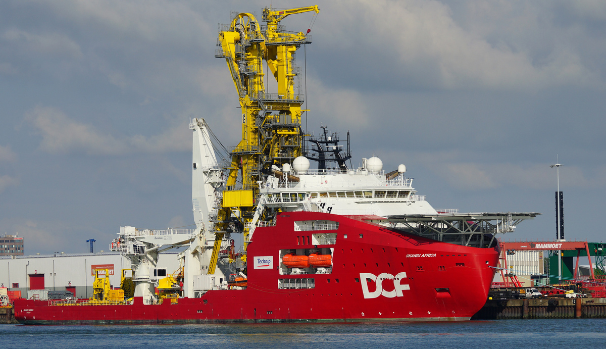 Skandi Africa subsea construction vessel's contract extended by two years (source: DOF/Kees Torn)