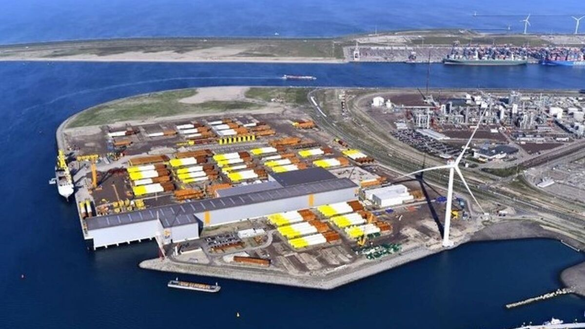 Sif will use its facility at Maasvlakte2 as the marshalling yard for the foundations for Dogger Bank A & B
