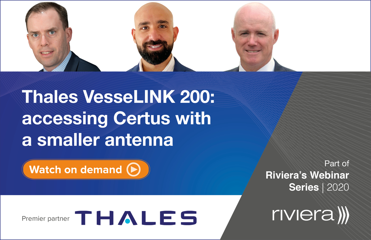 Panel of experts on the Thales VesseLINK 200 webinar