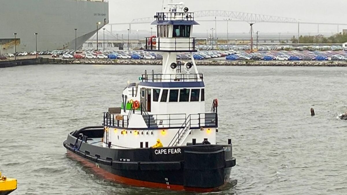 Vane Brothers is operating Cape Fear in its New York-based Bravo Fleet (source: Vane)