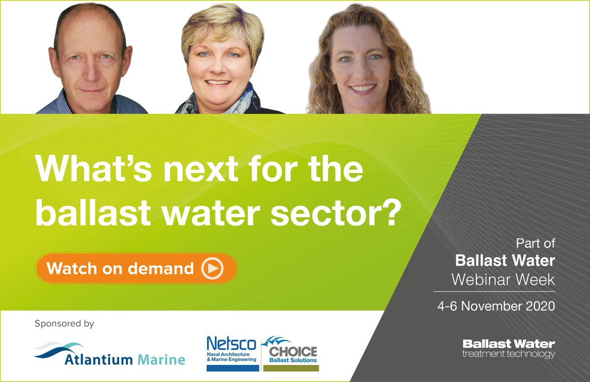 Ballast water webinar 3 panel