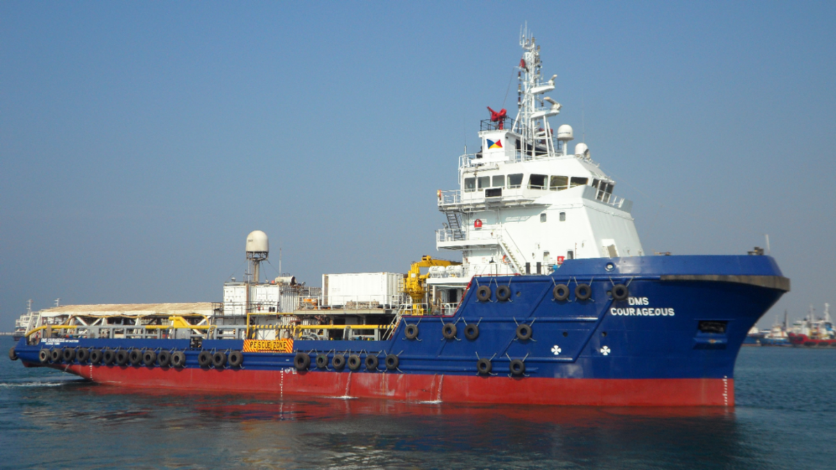 ABS is conducting a pilot program for a new condition-based mainteance approach on P&O's DMS Courageous offshore vessel (Image: ABS)