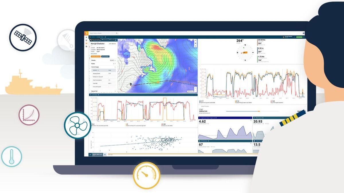 StratumFive and Inmarsat combine Podium with Fleet Data (source: StratumFive)