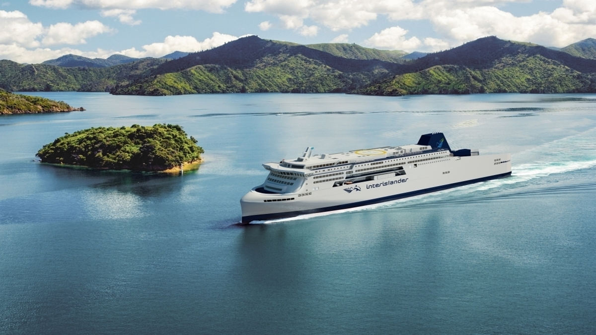 The Interislander service operates between New Zealand's North and South Islands (Image: KiwiRail)