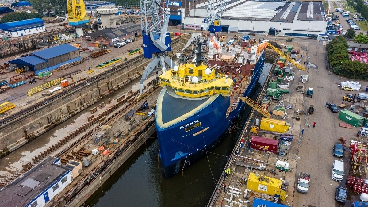 Damen completes major PSV conversion