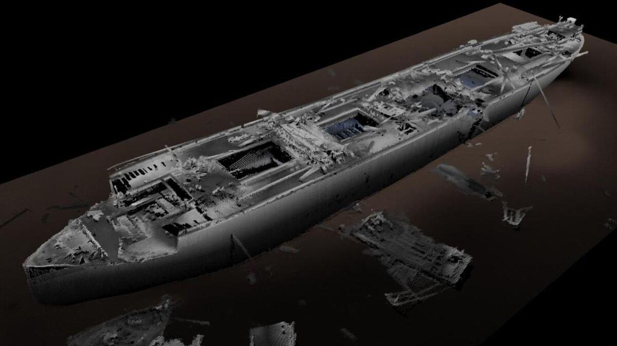 Salvors gain a greater understanding of ship wrecks with 3D models (source: Waves)