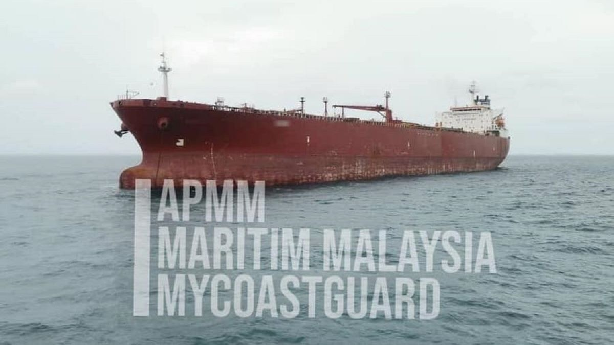 APMM has posted anonymised images of tankers illegally anchored in its waters (Image: APMM)