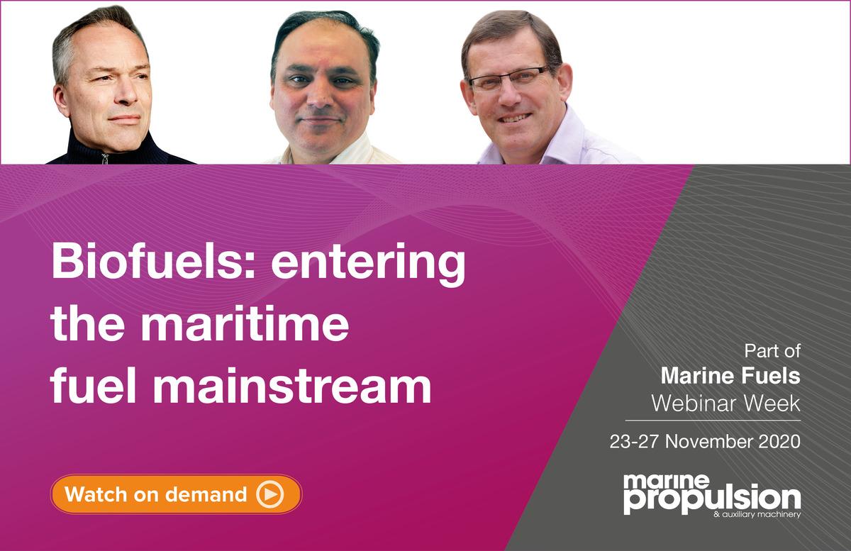 Biofuels Marine Fuels webinar panel