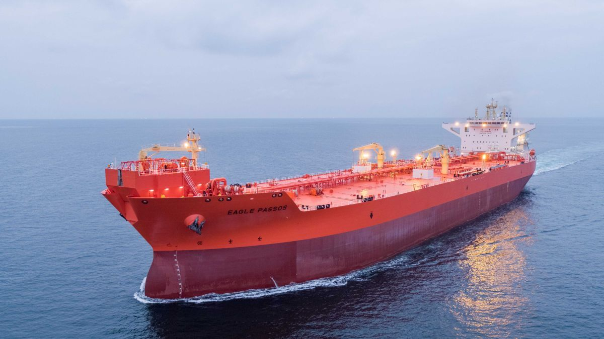 Eagle Passos was built and delivered by Samsung Heavy Industries (Source: ABS)