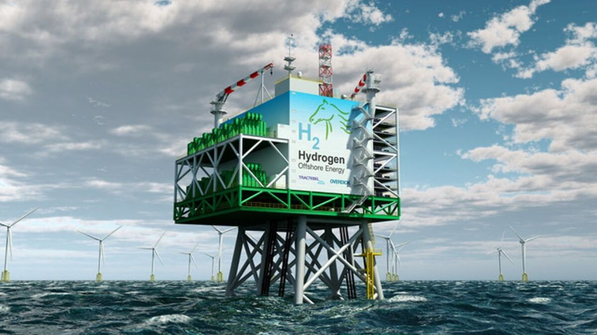 Tractebel Engineering and Tractebel Overdick first unveiled a power-to-gas offshore platform 2019