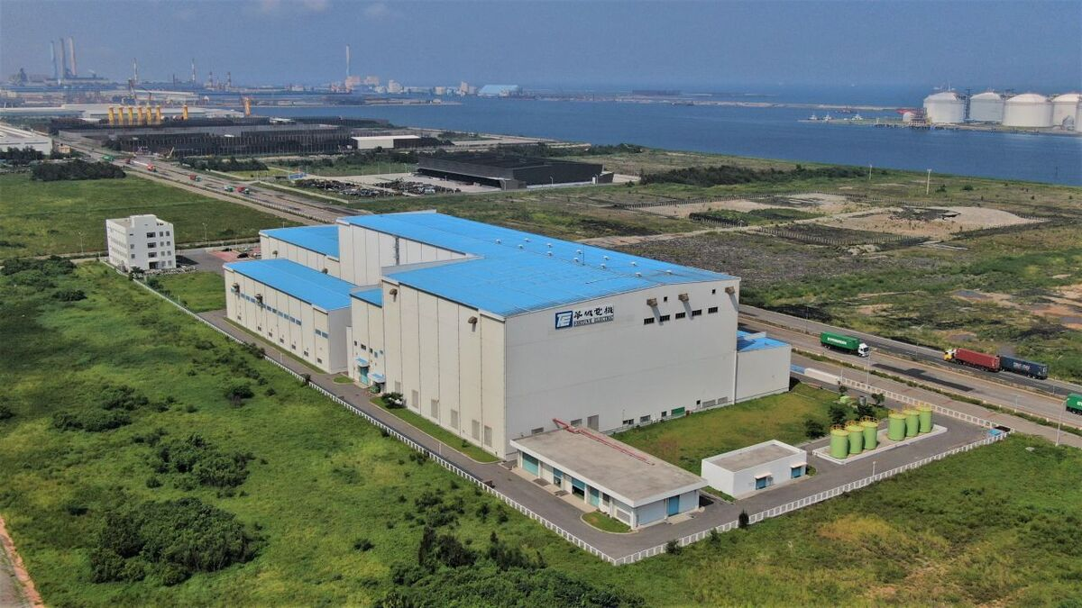 For certain projects, turbine hub assembly is expected to be carried out at the Taichung site, as well as final nacelle-related assembly