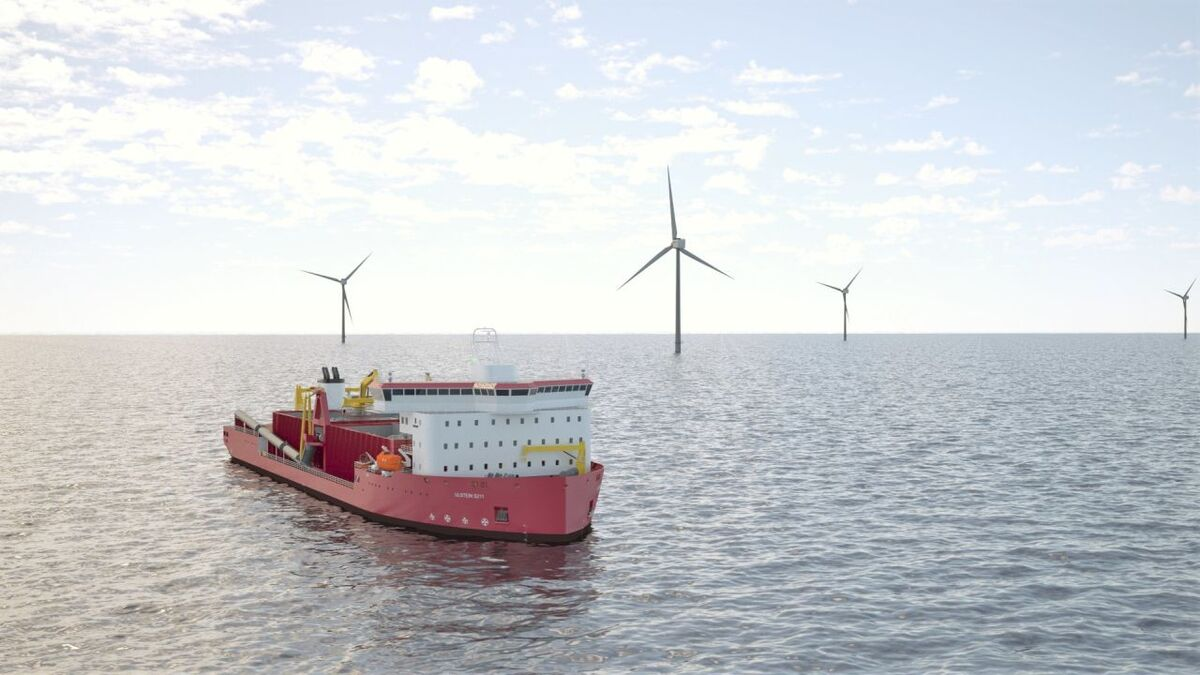 GLDD's rock installation vessel is being designed in Europe but would be built in the US