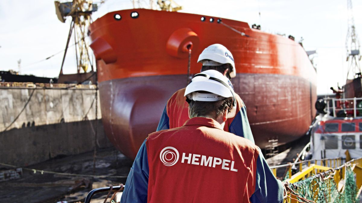 Hempel's patented Actiguard technology combines the smoothness of a silicone coating with an improved fouling defence solution (source: Hempel)