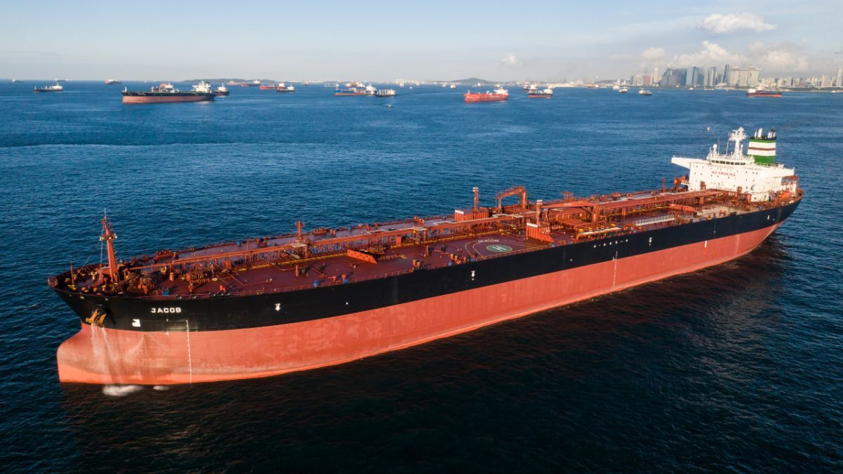 Suezmax tanker Jacob was fitted with Lean Marine's FuelOpt in double-quick time (Source: Tipco)