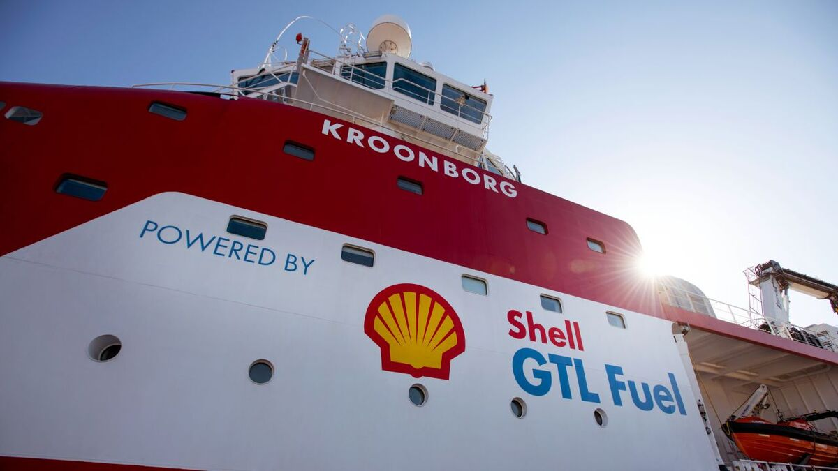 Shell supplied GTL fuel to vessels as part of its sustainable future strategy (source: Shell)