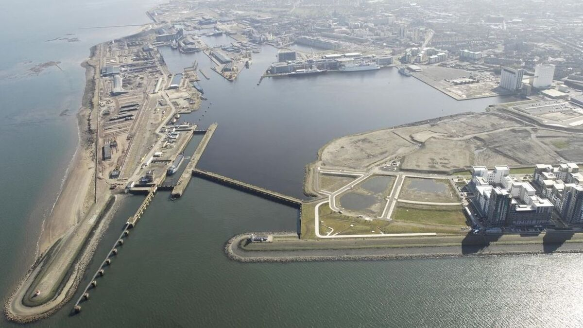 Port of Leith is playing a growing role in offshore wind projects such as Neart na Gaoithe
