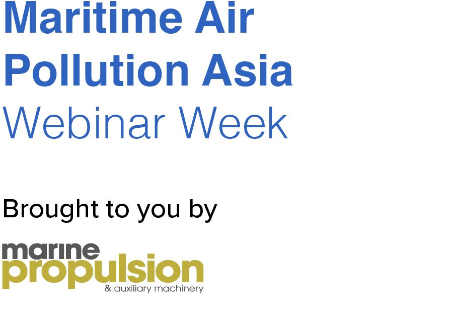 Maritime Air Pollution Asia Webinar Week