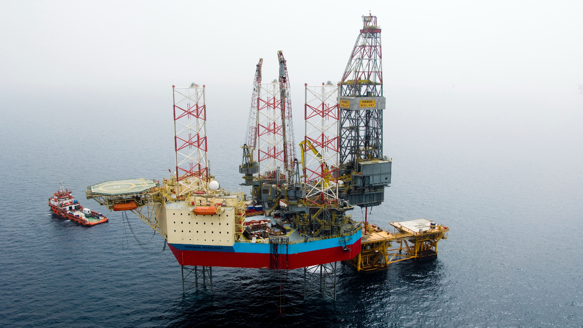 Petrogas secured Maersk Resilient for a three-well contract in the Dutch sector of the North Sea (source: Maersk Drilling)