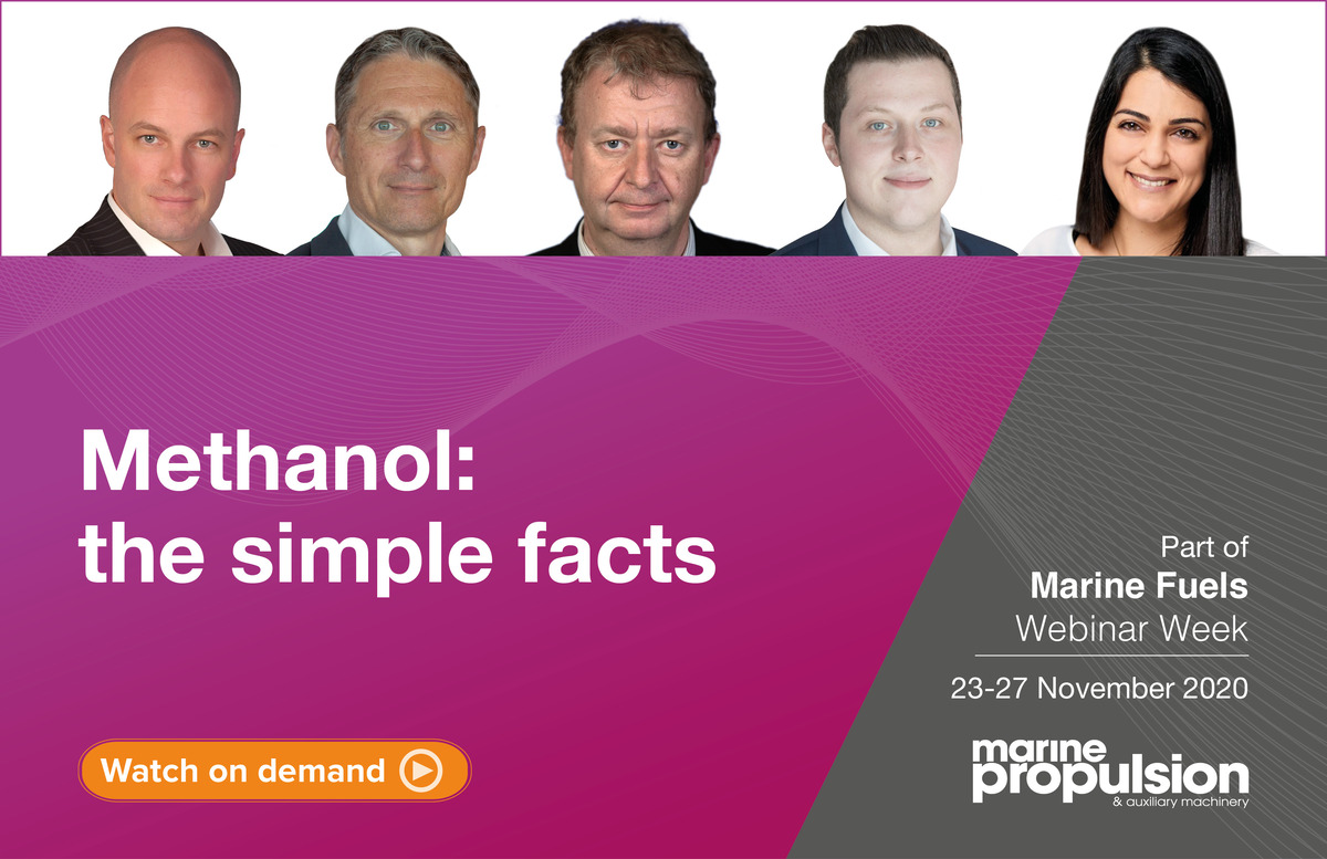 Methanol - the simple facts webinar panel line-up