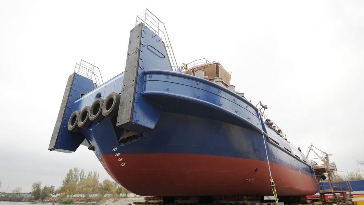 Nibulon launches 121M project tug Nibulon-15 (source: Nibulon)