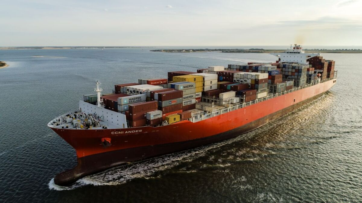 Bridge systems serviced on NSC-Group container ship CCNI Andes (source: NSC)