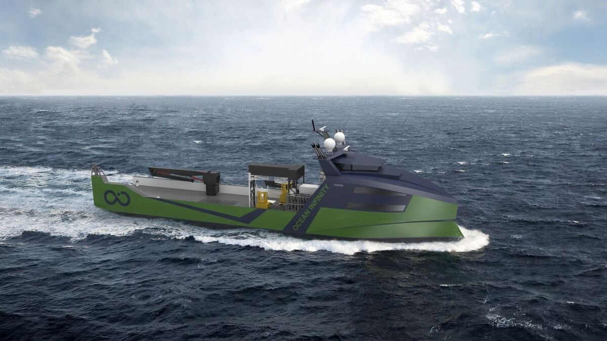 Ocean Infinity signs contract for 78-m robotic vessels