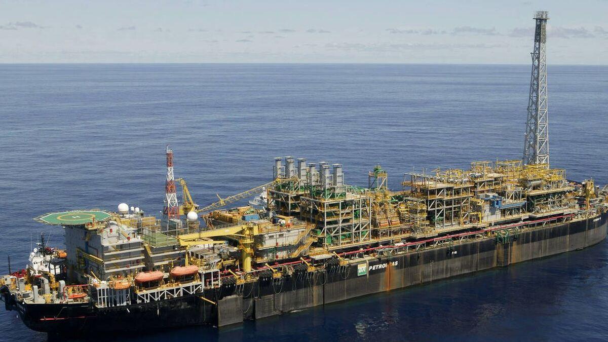 Carmen supply ship capsized near P-48 FPSO in Campos Basin (source: Petrobras)