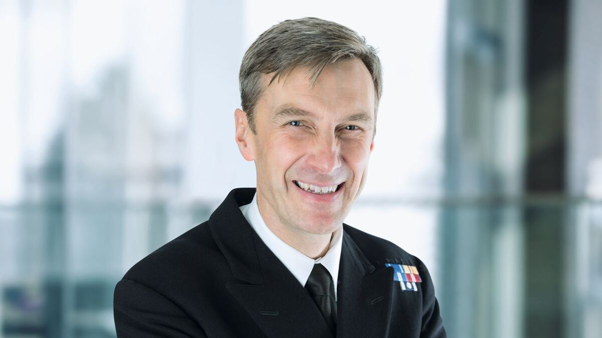 Peter Sparkes UKHO acting CEO and UK national hydrographer