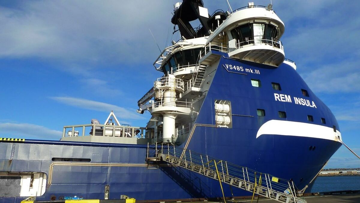 Rem Insula PSV is contracted by Apache North Sea for one year (source: Rem)